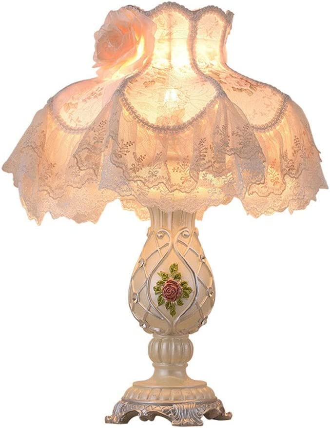 Direct sale of manufacturer Badplaats mart B.V. Table Lamps Lamp Lace White Cloth Patterns