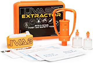 LIVABIT First Aid Safety Tool F.A.S.T. Kit Emergency Venom Extractor Snake Bite and Sting Suction Pump