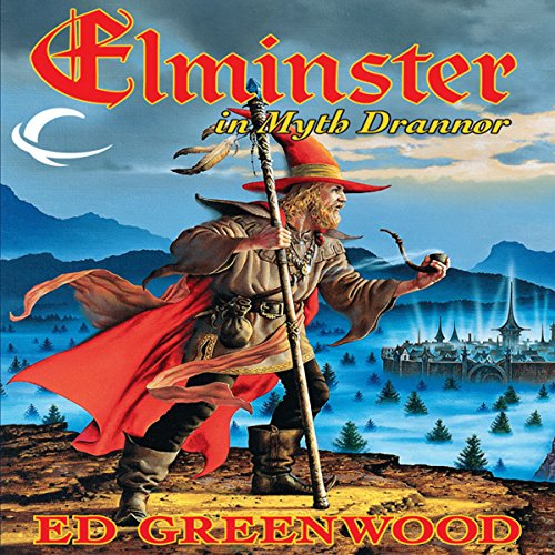 Elminster in Myth Drannor audiobook cover art