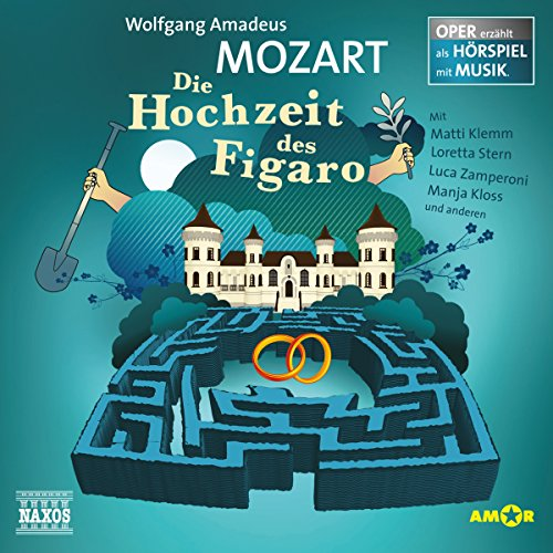 Die Hochzeit des Figaro     Oper erzählt als Hörspiel mit Musik              By:                                                                                                                                 Wolfgang Amadeus Mozart                               Narrated by:                                                                                                                                 Matti Klemm,                                                                                        Thomas Hof,                                                                                        Loretta Stern                      Length: 1 hr and 6 mins     Not rated yet     Overall 0.0