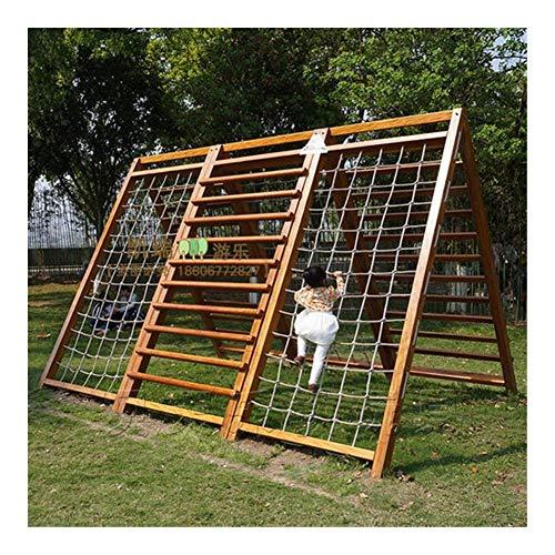 Review Kids Climbing Net Indoor Outdoor,Playground Tree Net Climbing Net for Swingset,Ninja Net Clim...