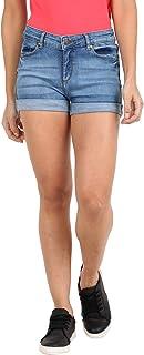 Broadstar Women Skinny Denim Shorts