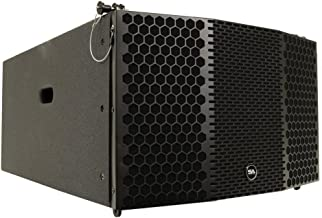 Seismic Audio CLA-310 Compact 3 x 10 Line Array Subwoofer PA/DJ Band Live Sound Line Arrays