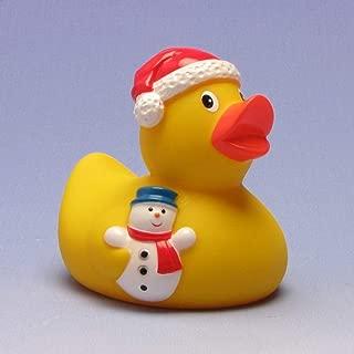 Rubber Duck Santa Claus   Bathduck   Duckshop   L: 7,5 cm