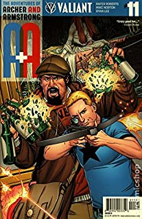 A and Archer and Armstrong # 11B (2016 Variant)