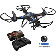 AKASO A31 Drone with Camera WiFi 1080P FPV Live Video RC Quadcopter Drone for Beginners Adults...