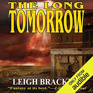 The Long Tomorrow audiobook cover art