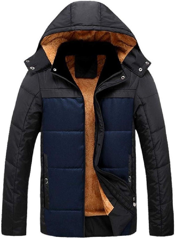 6371e6051e XT-RENM Men Outwear Outwear Outwear Hooded Plus Velvet Wrap Fashion Cotton-Padded  Clothes 6a443b