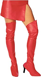 Best red boots high knee Reviews