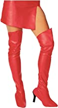 thigh high costume boot covers