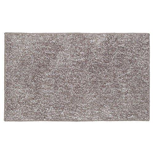 Sealskin Tapis de Bain antidérapant Absorbant en Coton, Taupe, 80 x 50 x 3 cm