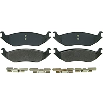 Wagner ZX967A Semi-Metallic Disc Brake Pad Set