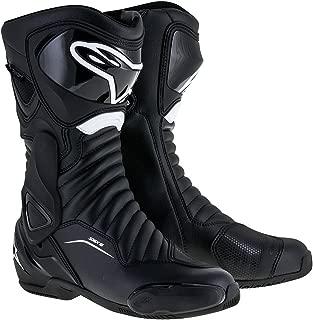 Alpinestars SMX-6 V2 Drystar Mens Motorcycle Boots - Black - 45
