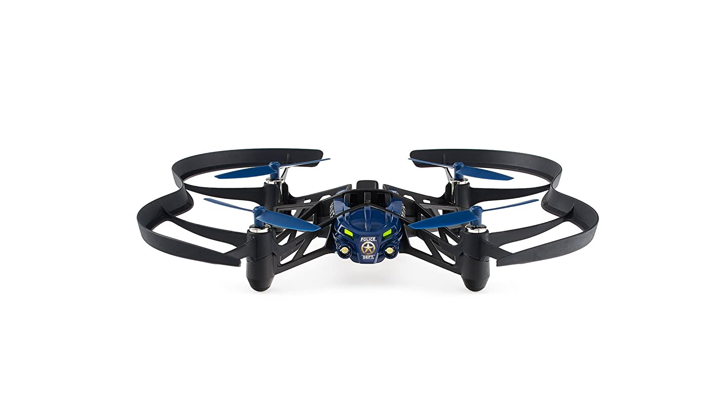 Parrot Airborne Night MiniDrone - Maclane (Blue) wuh9832524009