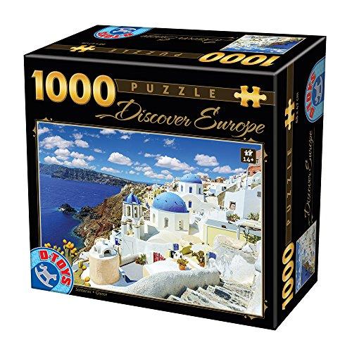 Unbekannt Discover Europe Santorini - Puzzle (1000 Piezas)