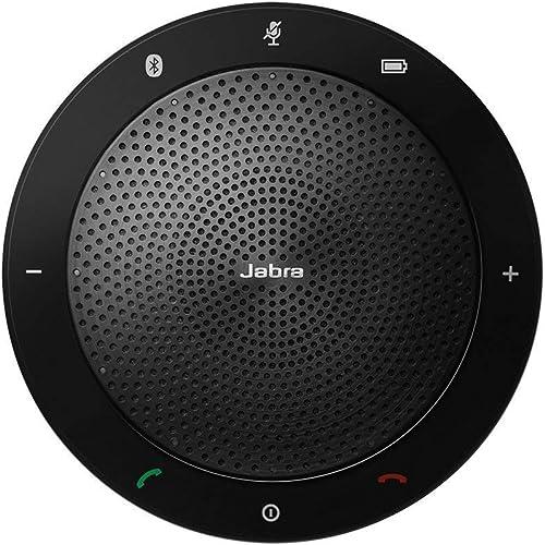 Jabra Speak 510 MS Wireless Bluetooth Speaker for Softphone and Mobile Phone – Easy Setup, Portable Speaker for Holdi...