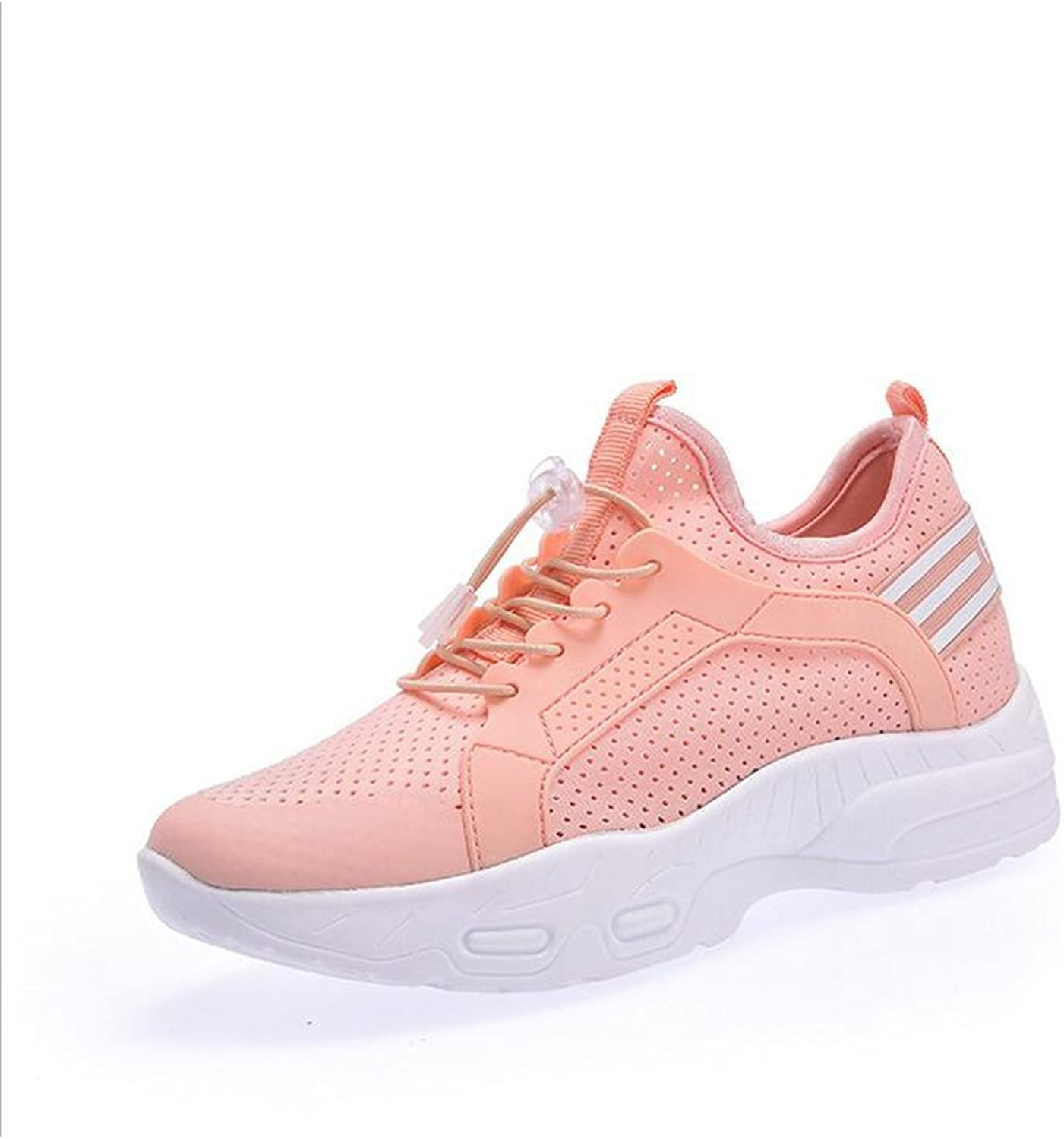 Exing Womens's shoes Summer Fall New Ladies Invisible Increase shoes,Athletic Mesh Breathable Casual shoes,Wild Lace-up Athletic shoes