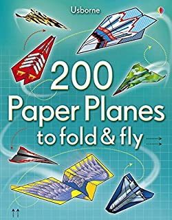200 Paper Planes to Fold and Fly (1409557065) | Amazon price tracker / tracking, Amazon price history charts, Amazon price watches, Amazon price drop alerts