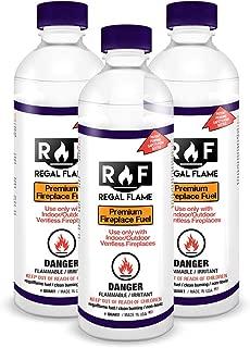 Regal Flame Signature Ventless Bio Ethanol Fireplace Fuel (3 Quarts)