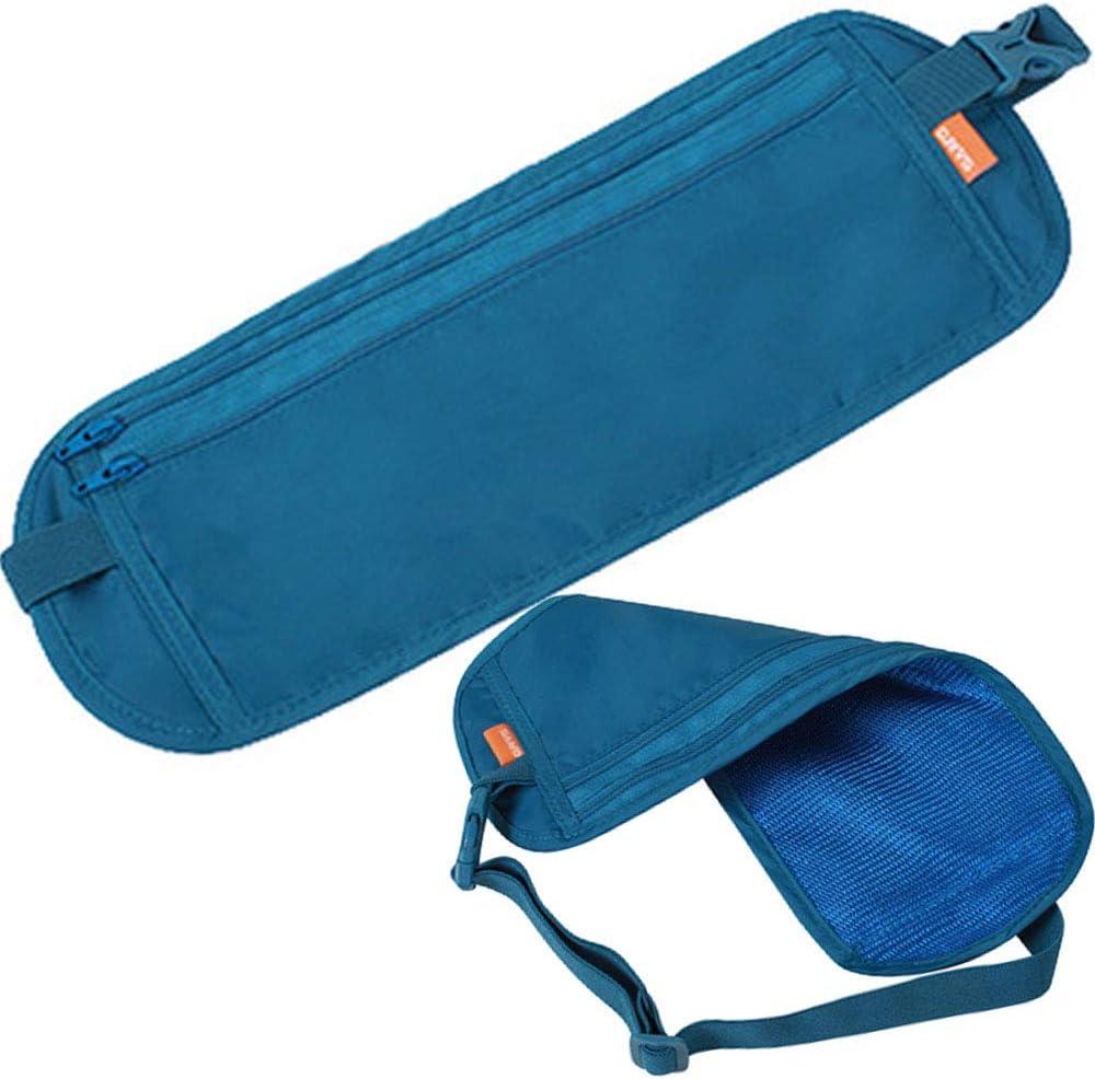 YANQINQIN Running Pouch Belt Waist Pack Bag for Workouts Travelling Belt for Men Women Cycling