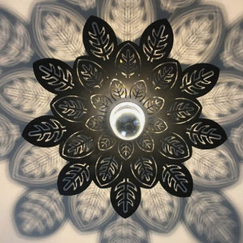 YHSGD Einfache Ceiling Lampe LED E27 Mundschutz-Farbe für Schlafzimmer-Studienkorridor Beleuchtung,schwarz,A35cm