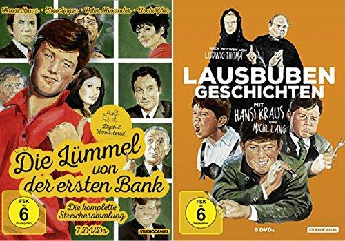 Hansi Kraus - DIE LÜMMEL VON DER ERSTEN BANK & LAUSBUBENGESCHICHTEN Die komplette LUDWIG THOMA Streichesammlung 12 DVD Edition DIGITAL REMASTERED
