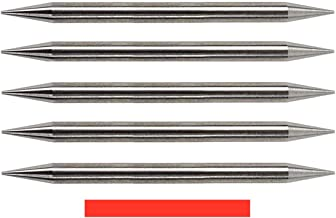 Pre-Ground TIG Tungsten Sharpened Electrodes Red 2% Thoriated 5-Pack (3/32
