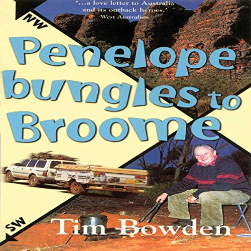 Penelope Bungles to Broome audiobook cover art