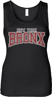 Cybertela Women`s New York NY Bronx Slim Fit Tank Top