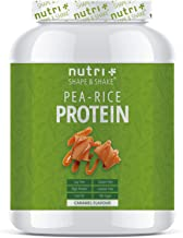 Pea Protein – Rice Protein Caramel 1kg – Plant Based Drink with All Essential Amino acids – Vegan Pea-Rice Protein Powder Without Soy Sugar Lactose Gluten Estimated Price : £ 31,37
