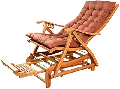 Amazon.com: Sillas de ratán de bambú para el hogar, balcón ...