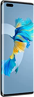 "Huawei Mate 40 Pro 5G Smartphone,Dual SIM, 256GB ROM, 8GB RAM,50MP,4400mAh, 6.76"" Curved Display - Black"