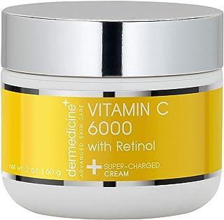 Dermedicine Vitamin C 6000 with Retinol Super Charged Cream 2oz