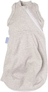 The Gro Company Grobag Grey Marl Light Swaddle Sleeping Bag