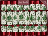 Robin Reed 8 X 10 Handmade English Christmas Crackers SPODE Tree