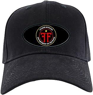 CafePress - Fringe Division Black Cap - Baseball Hat, Novelty Black Cap