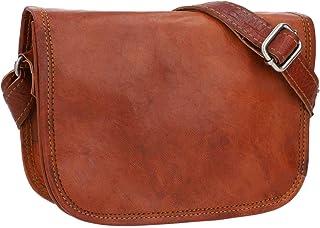 Bolso de Piel - Summer Bolso Bandolera de Cuero marrón pequeño
