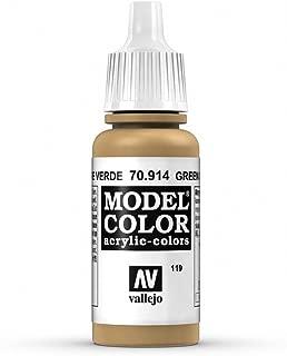 Vallejo Acrylic Paint, Green Ochre