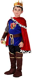 Prince Charming Costume, Boys, Size 4-6 Years, King, Knight