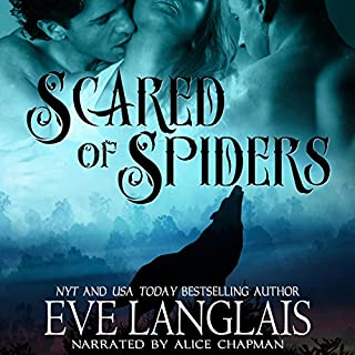 Scared of Spiders audiobook cover art
