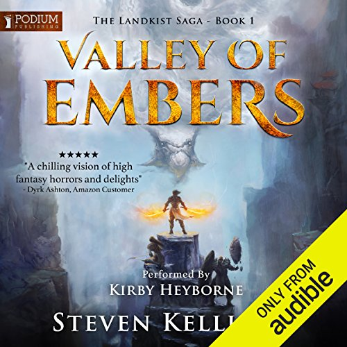 Valley of Embers audiobook cover art