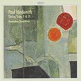 Paul Hindemith - Streichtrios 1 & 2 - Various