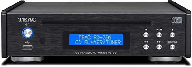 Teac PD-301-X Reference Series CD Player/FM Tuner with USB (Black)