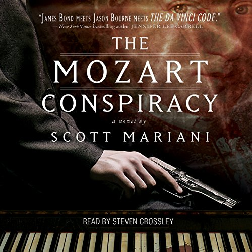 The Mozart Conspiracy audiobook cover art