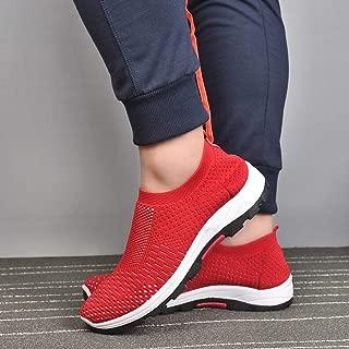 SKLT Mesh Men Casual Shoes -Up Men Shoes Lightweight Comfortable Breathable Walking Sneakers