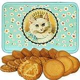 ラ・トリニテーヌ アニマル缶 ロイヤルキャッツ ネコ クッキー ガレット・パレット詰め合わせ