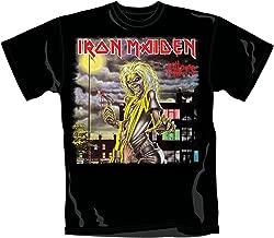 Tee Shack Iron Maiden Ghost of The Navigator Steve Harris Officiel T-Shirt Hommes Unisexe