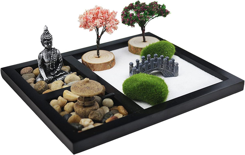 SUQ Jardin Miniatura Jardin Accesorios, Decoración de Jardín DIY Zen, Figuras de Jardín Resina, Figuras de Jardín Caseras, Miniaturas de Jardín de Mesa Zen, Decoraciones Sandbox, regalo Creativo