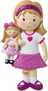 Best girl with doll ornament Reviews
