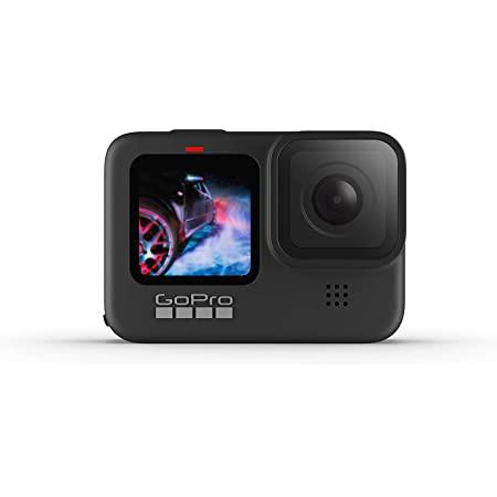 GoPro HERO9 Black - Caméra embarquée étanche avec écran LCD avant et écran tactile à l'arrière, vidéo 5K Ultra HD, photos 20MP, diffusion en direct 1080p, webcam, stabilisation